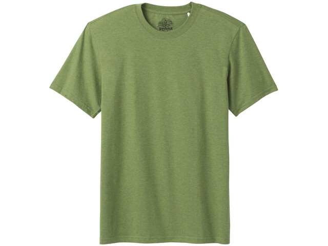 Prana Crew T-Shirt Herre Matcha Heather
